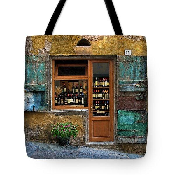 Tuscany Wine Shop 2 Tote Bag