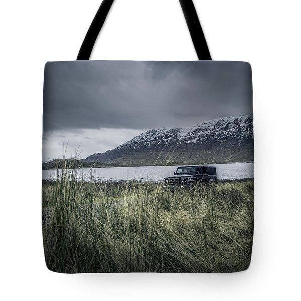 Twisted Land Rover Defender Tote Bag