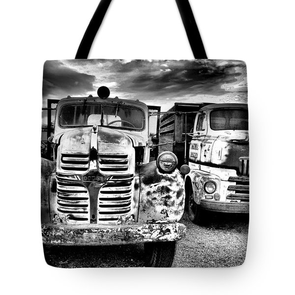 Tote Bag featuring the photograph Two Old Beauties by Jeff Swan