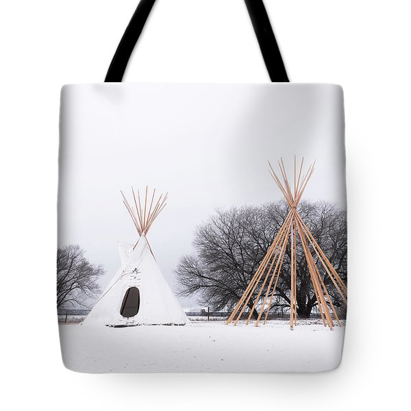 Two Tipis Tote Bag