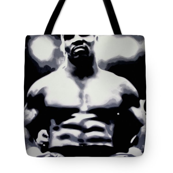 Tyson Tote Bag by Luis Ludzska