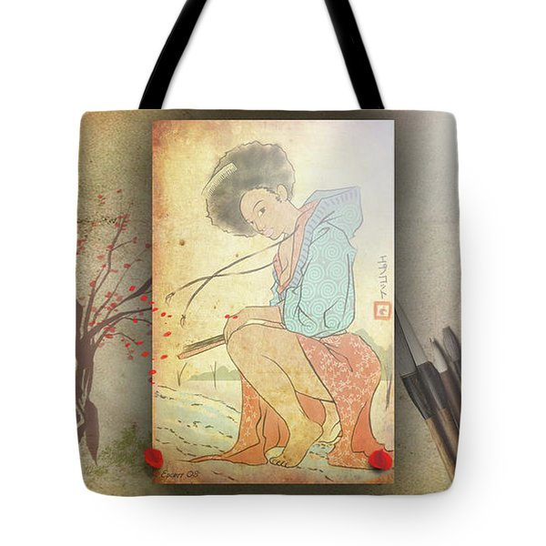 Ukyo-e Soul Tote Bag