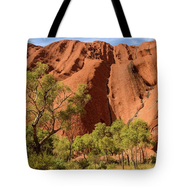 Tote Bag featuring the photograph Uluru 07 by Werner Padarin