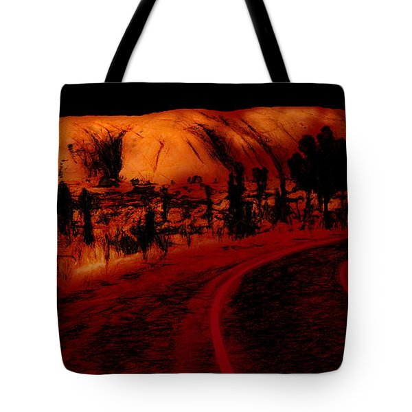 Uluru Sunrise Tote Bag