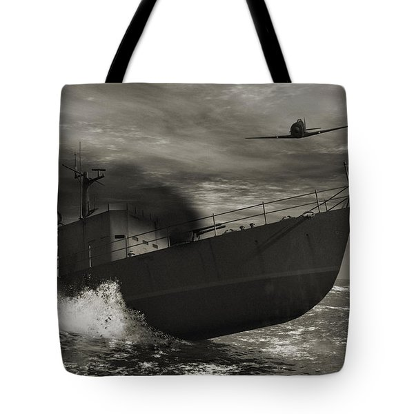 Under Attack  Tote Bag