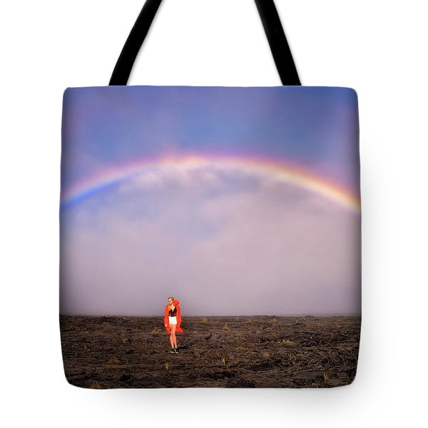 Under The Rainbow Tote Bag