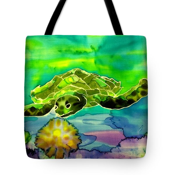 Under The Sea Tote Bag by Beverly Johnson