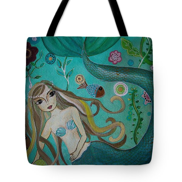 Under The Sea Tote Bag by Pristine Cartera Turkus