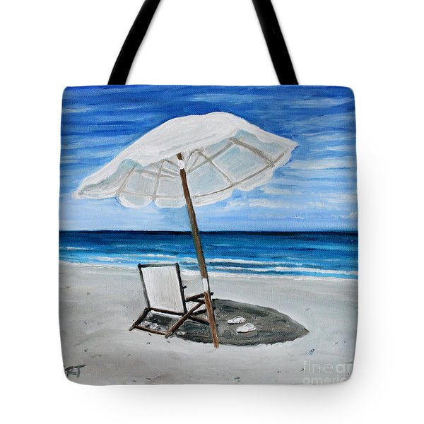 Under The Umbrella Tote Bag