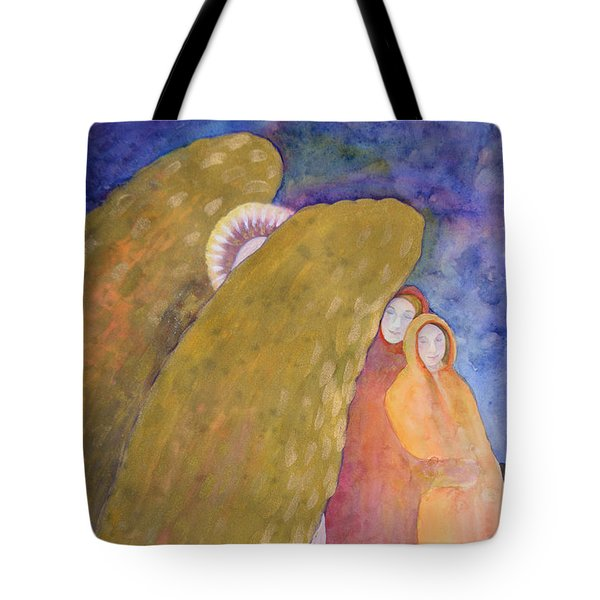 Under The Wing Of An Angel Tote Bag