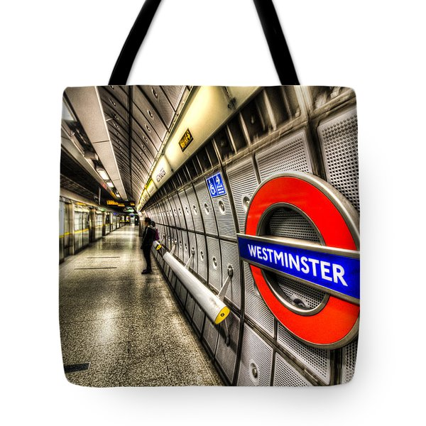 Underground London Tote Bag