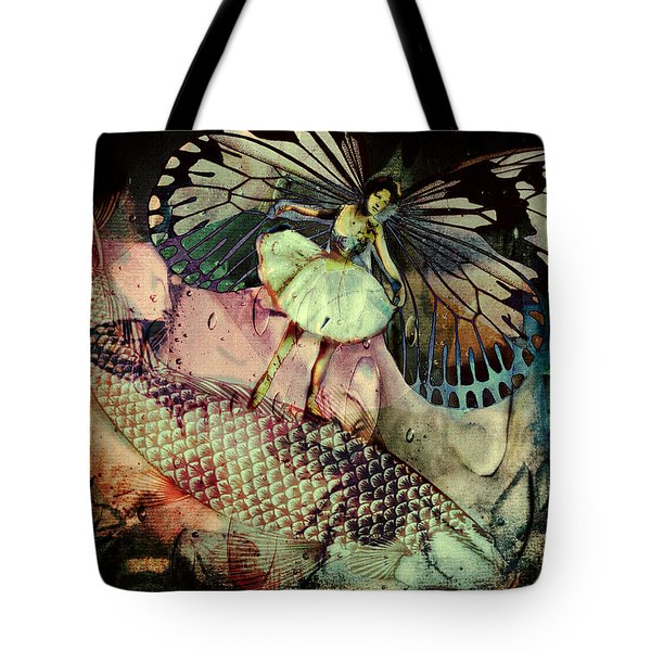 Underwater Ride Tote Bag