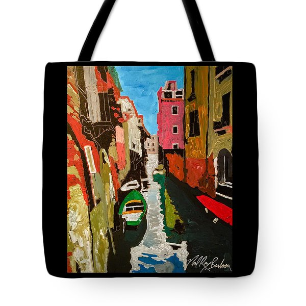 Unfinished Venice Italy  Tote Bag