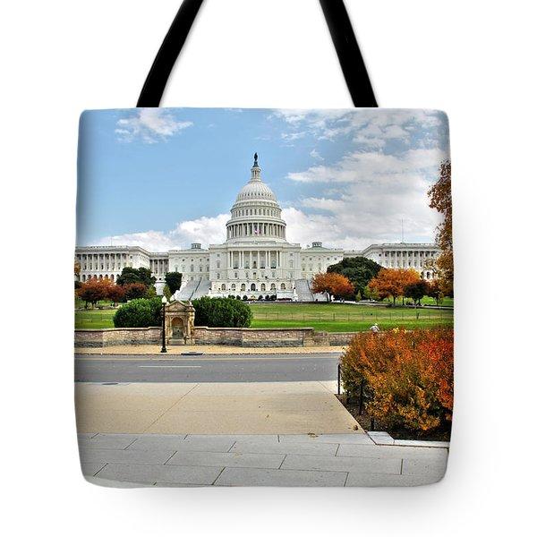 United States Capitol - Washington, D.c. Tote Bag