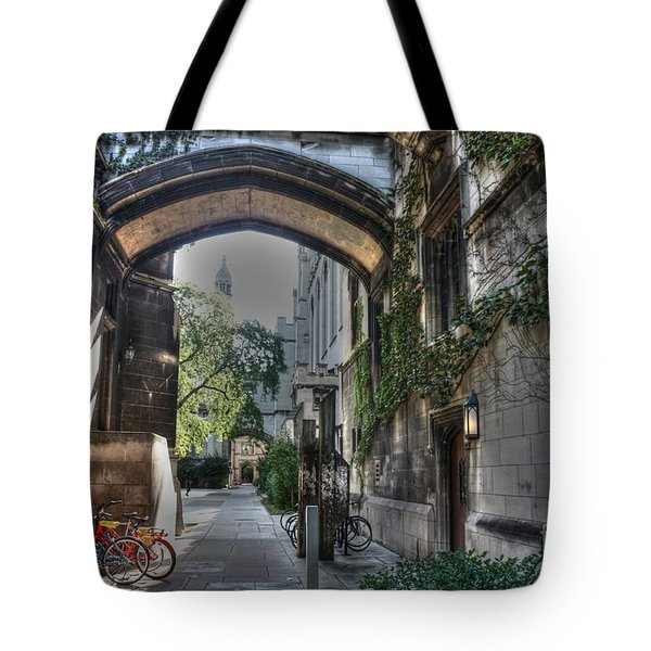 University Of Chicago Tote Bag by David Bearden