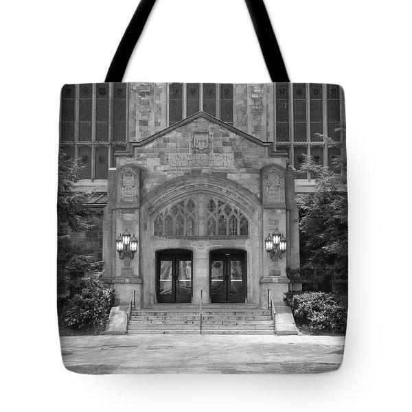 University Of Michigan Law Quad Tote Bag
