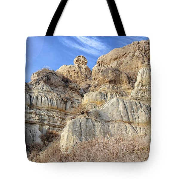 Unstable Cliffs Tote Bag
