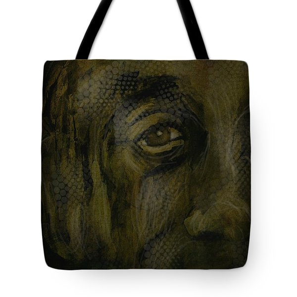 Untitled Portrait June 6 2015 Tote Bag by Jim Vance