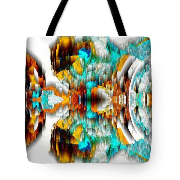 Tote Bag featuring the digital art Untitled Series 992.042212 -c by Kris Haas