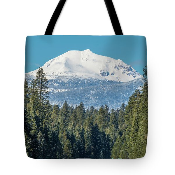 Up To The Mountain Tote Bag