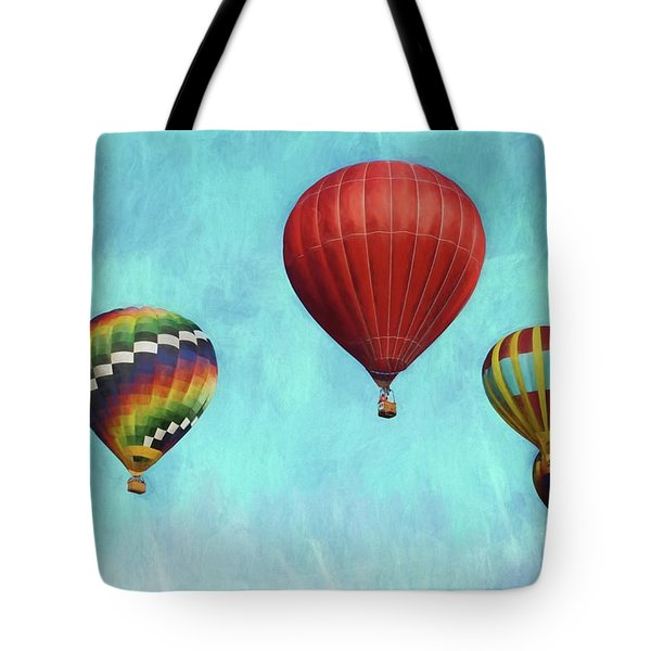 Tote Bag featuring the photograph Up Up And Away 2 by Benanne Stiens