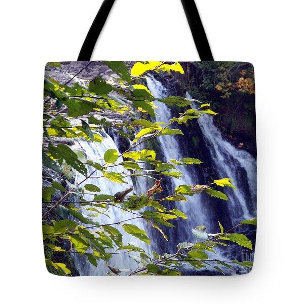 Upper Rock Creek Falls Tote Bag