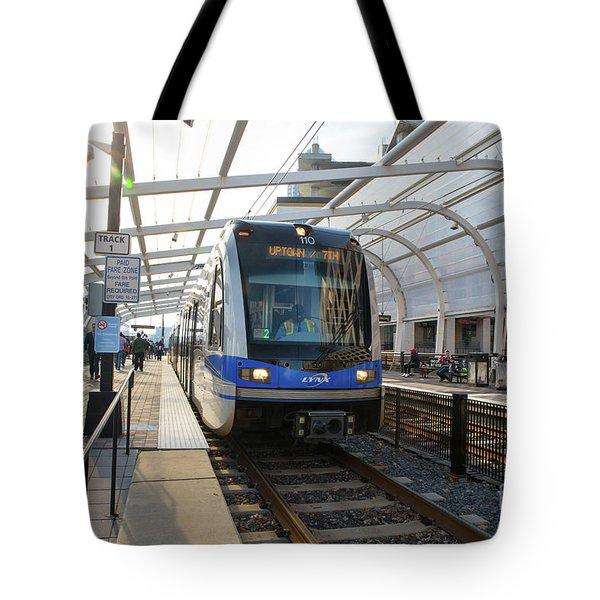 Uptown Charlotte, North Carolina Tote Bag by Kevin McCarthy