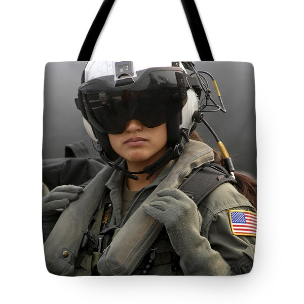 U.s. Navy Aviation Warfare Systems Tote Bag by Stocktrek Images