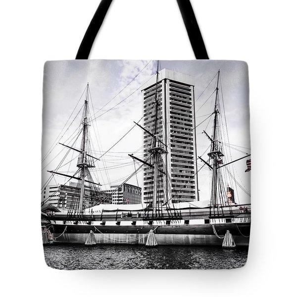 U.s.s. Constellation Tote Bag