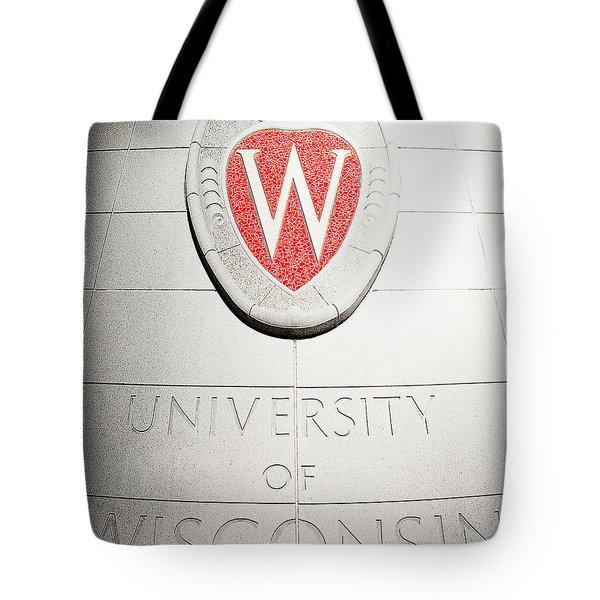 Uw Crest Tote Bag
