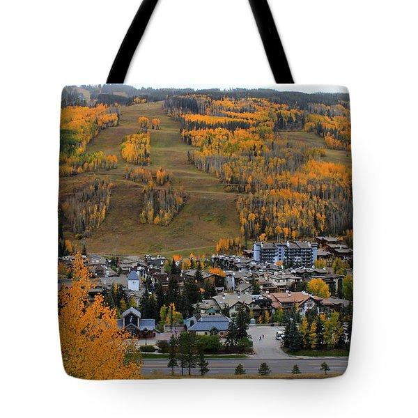 Vail Colorado Tote Bag