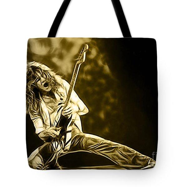 Van Halen Eddie Van Halen Collection Tote Bag