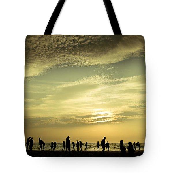 Vanilla Sky Tote Bag