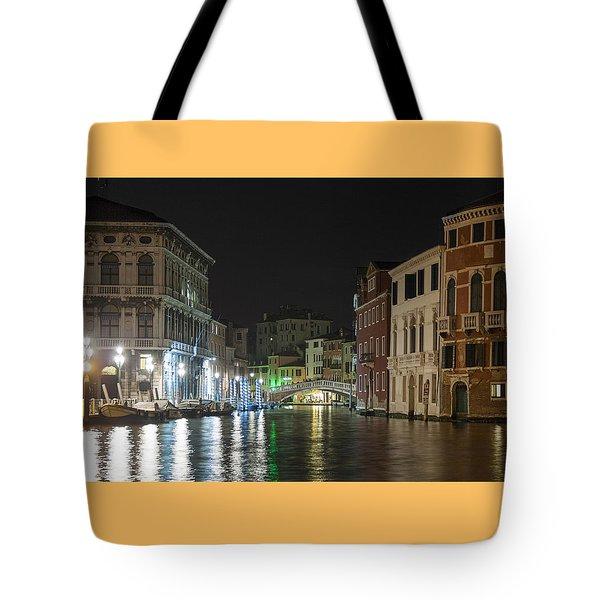 Tote Bag featuring the photograph Romantic Venice  by Silvia Bruno