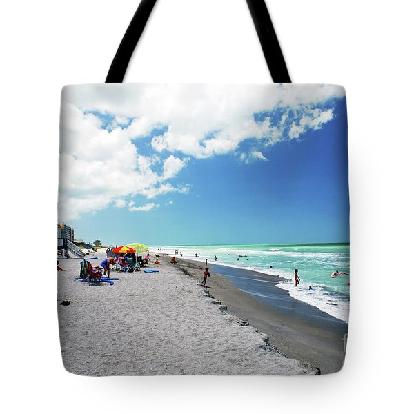Tote Bag featuring the photograph Venice Beach by Gary Wonning