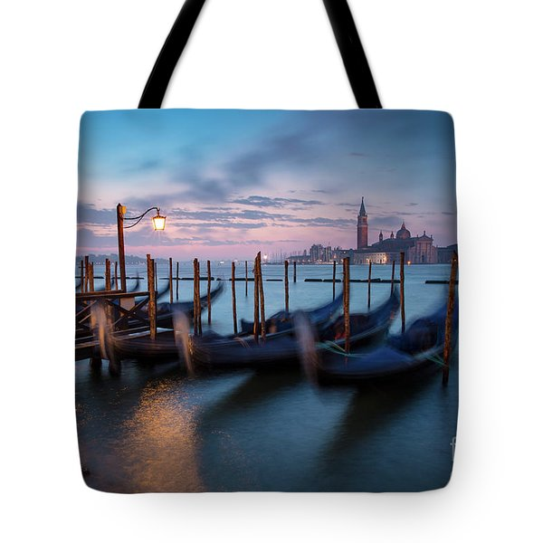 Tote Bag featuring the photograph Venice Dawn by Brian Jannsen