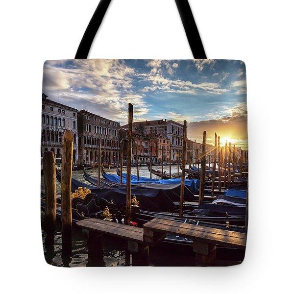 Venice Tote Bag by Evgeni Dinev