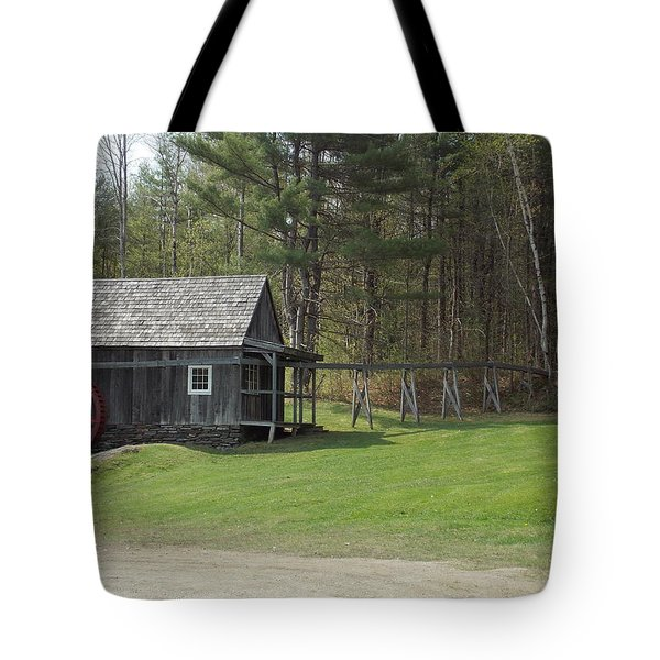 Vermont Grist Mill Tote Bag