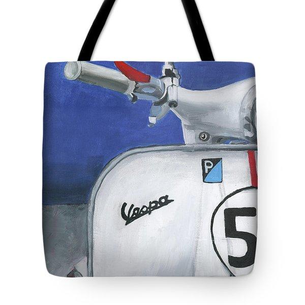 Vespa 53 Tote Bag