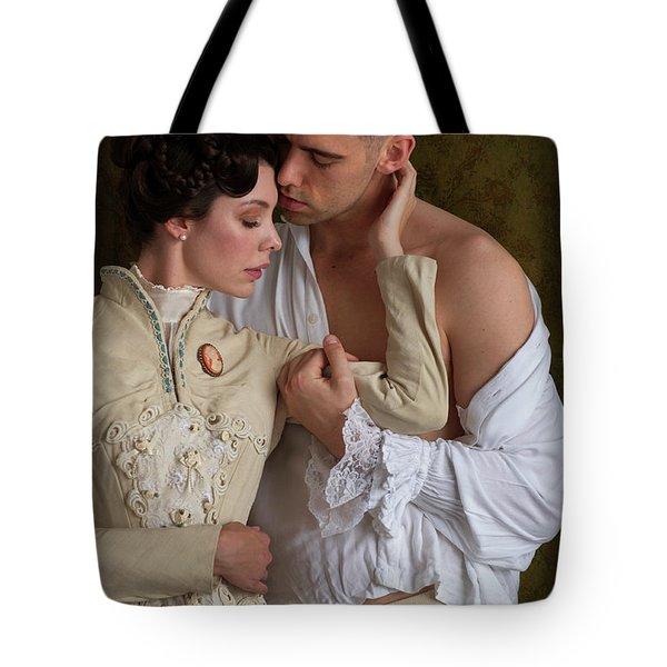 Victorian Lovers Tote Bag