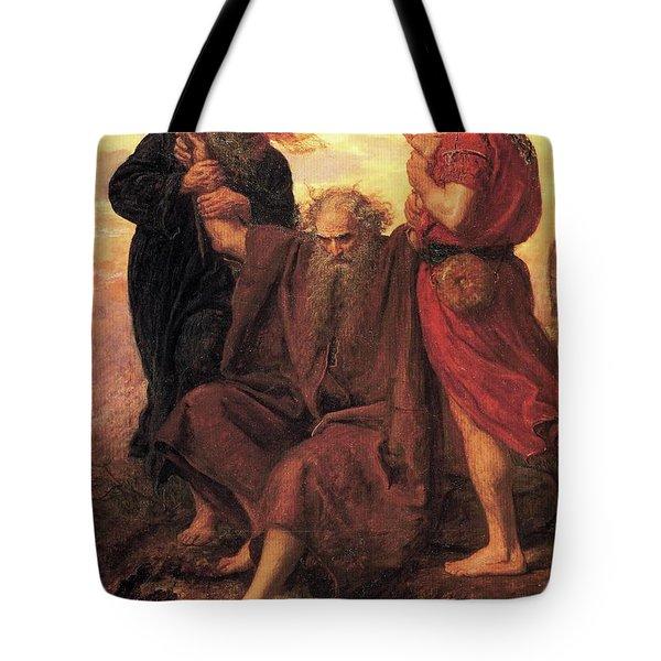 Victory O Lord Tote Bag