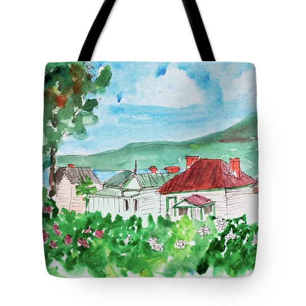 View From Battery Point Tote Bag