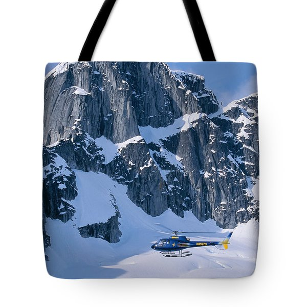 View Of Alaska Tote Bag by John Hyde - Printscapes