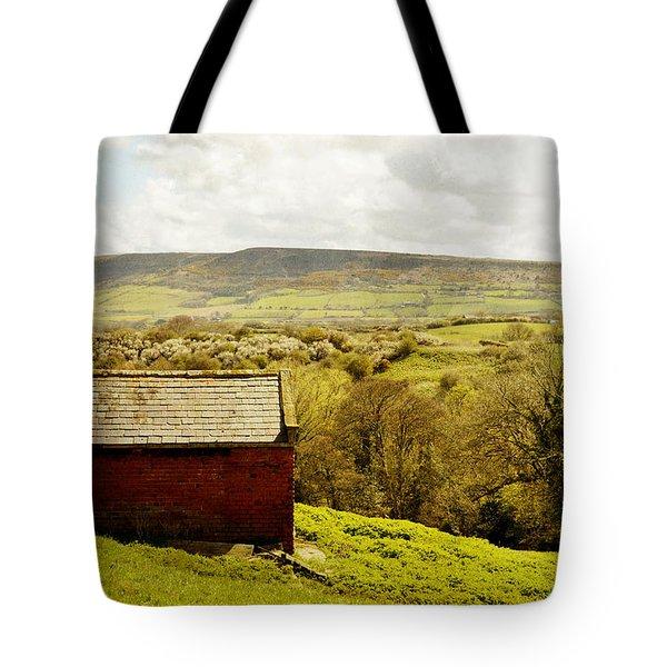 View Of Robin Hoods Bay Tote Bag