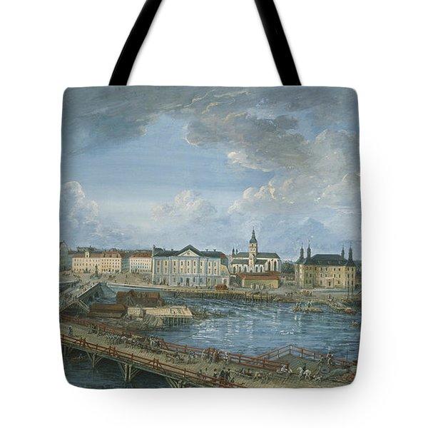 View Of Stockholm Tote Bag