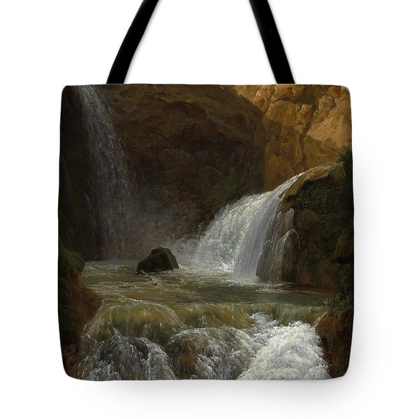 View Of The Waterfalls At Tivoli Tote Bag