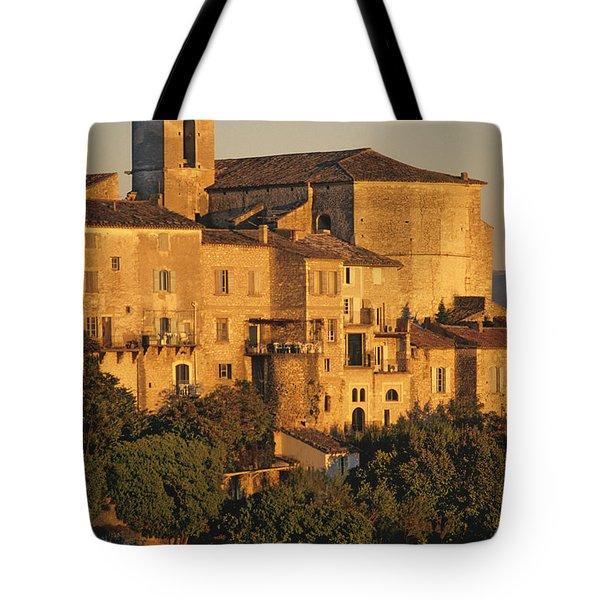 Village De Gordes. Vaucluse. France. Europe Tote Bag