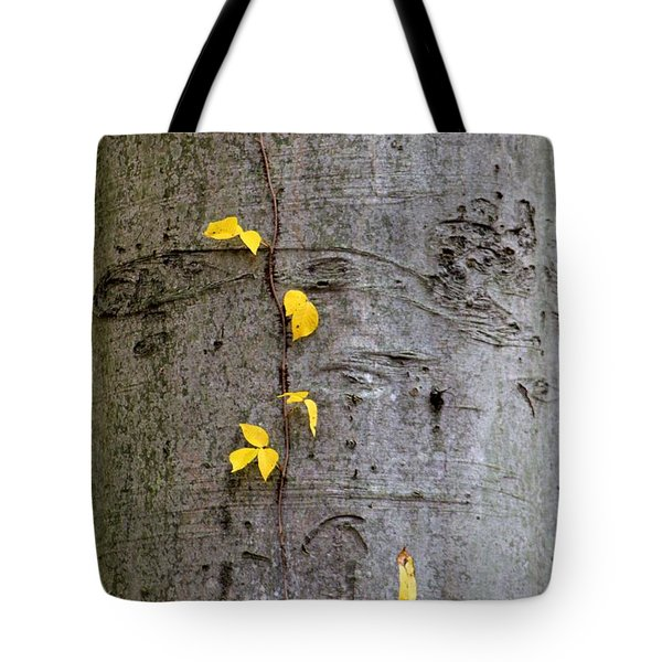Tote Bag featuring the photograph Vine Climber by Deborah  Crew-Johnson