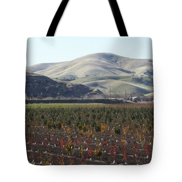 Vineyard Tote Bag