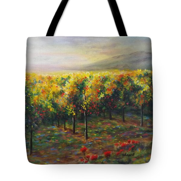 Vineyard Glow Tote Bag
